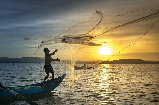 rybářská síť