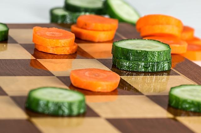 hra se zeleninou