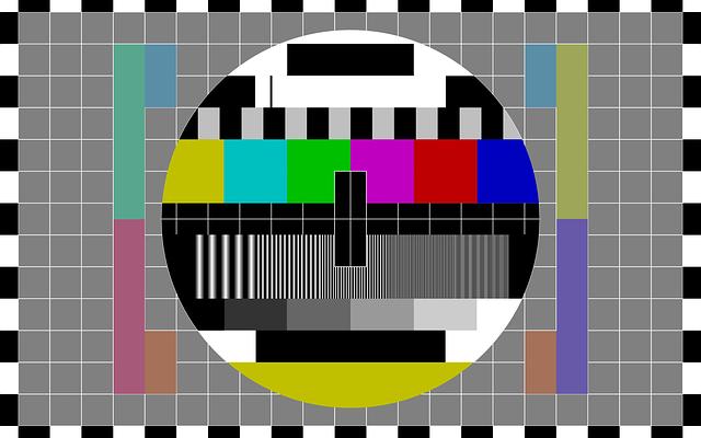 testovací TV